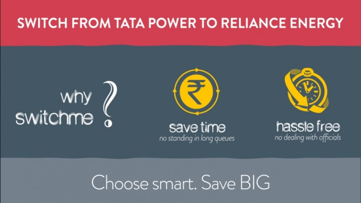 Why SwitchMe? Transfer tata to reliance energy