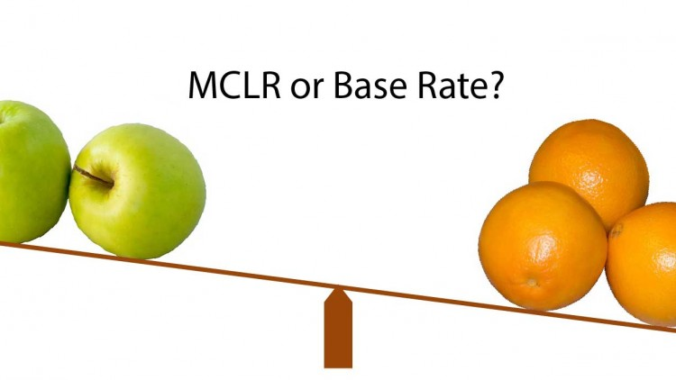 Difference between MCLR and Base Rate explained