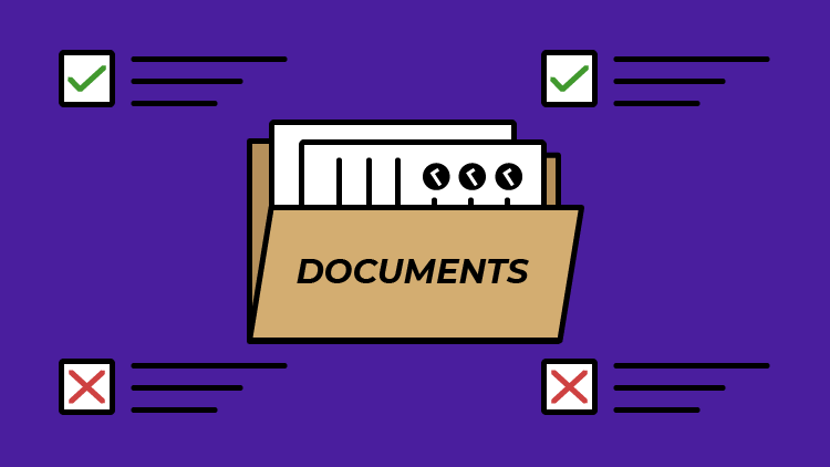 documents for self employed